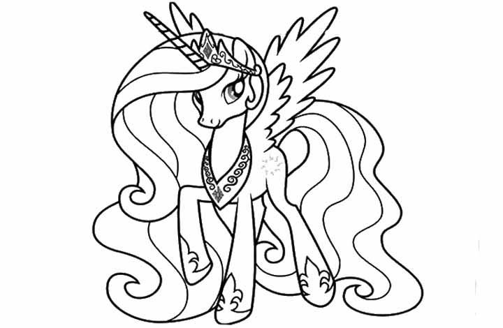 My Little Pony Posing With Wearing A Crown | My little ...