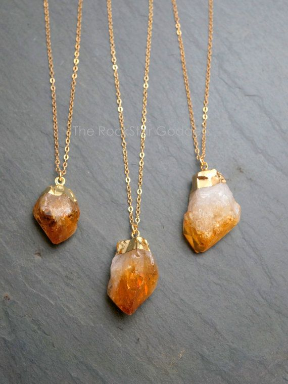 Citrine: A modern August birthstone. August has so many choices.