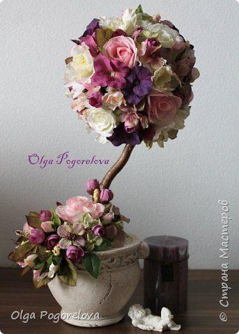 Бонсай топиарий 8 марта Пасха Моделирование конструирование Цветы для души Топиарии фото 8
