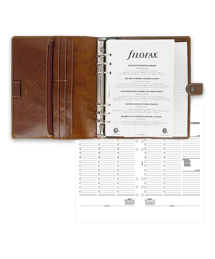 Look at this Ochre Malden Leather A5 Organizer & 2015-2016 Calendar on #zulily today!