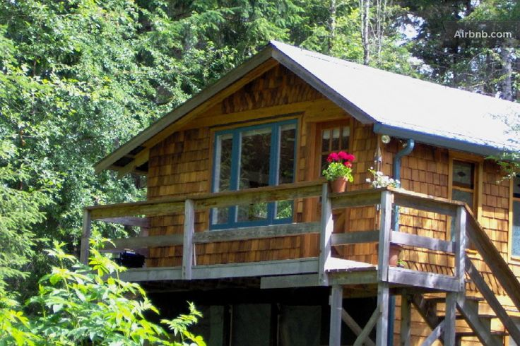 Above All Cottage, Quadra Island, BC