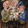 Les joueurs de cartes ou les joueurs de Skat, Otto Dix, 1920 -
