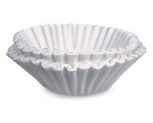 25 USES FOR COFFEE FILTERS  WORKS GREAT ON MIRRORS  03-15-12 MR