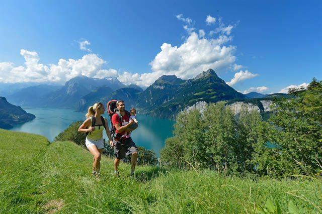 Family excursions galore in Canton Schwyz, Switzerland.
