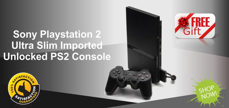 Zoneofdeals.com - Gaming & Electronics - BUY The Gaming Accessories for Xbox, Playstation 2, Ps3 & Ps4 For Lowest Price on zoneofdeals.com PS2, PS3, Xbox, PSPs, Playstation and many More Products Sony Playstation 2 Ultra Slim Imported PS2 Console With Wireless Controller + FREE Gifts @ Rs.7499 OnLy