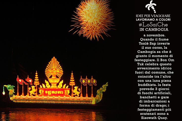 I #LoSaiChe di #IdeeperViaggiare continuano.......http://www.ideeperviaggiare.it #Cambogia