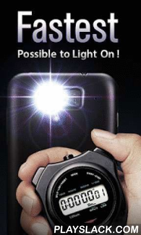 Brightest LED Flashlight Free  Android App - playslack.com , The brightest flashlight for Android, with a simple push, instantly illuminates your world.Makes life easier that there is an app actually lights up like a REAL flashlight. Straight-forward interface easy to use, strobe is available.Afraid of darkness? Get it for $0.00 NOW!- Unbelievable brightness- Widget Support!Faster start-up- Elegant design- Strobe with speed control- Illuminate your night- Turn on the LED flash on the back of…