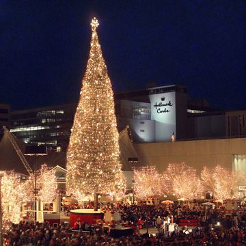 Crown Center at Christmas