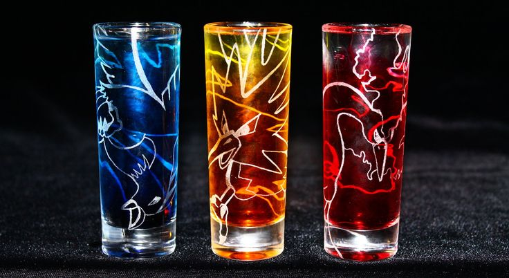 Zapdos Moltres Articuno Cups These Are Sooo Epic