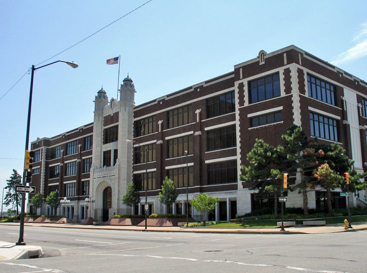 Tulsa - the former Central High School where Demetrius graduated. students  in 10 - 12 grades. Now is home to Public Service Corp.