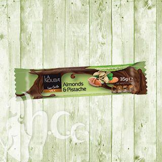 Suikervrij genieten - webshop voor diabetici en om af te slanken - Chocoladereep amandel-pistache (maltitol) - diabetes, zonder suiker, afslanken, diëten, vermageren, gezond, gezonde voeding, tussendoor, koekjes, chocolade, dressing, sauzen, suikerloos, maltitol, stevia - Chocolade - Webshop - E-commerce - Online shop | Een ruim aanbod aan suikervrije koekjes, chocolade, confituren, enz... www.suikervrijgenieten.be