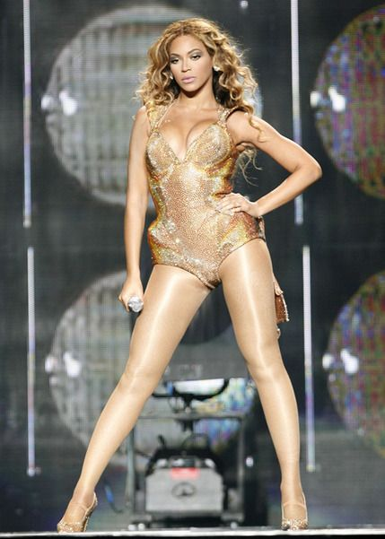 Knowles the world beyonce gma run