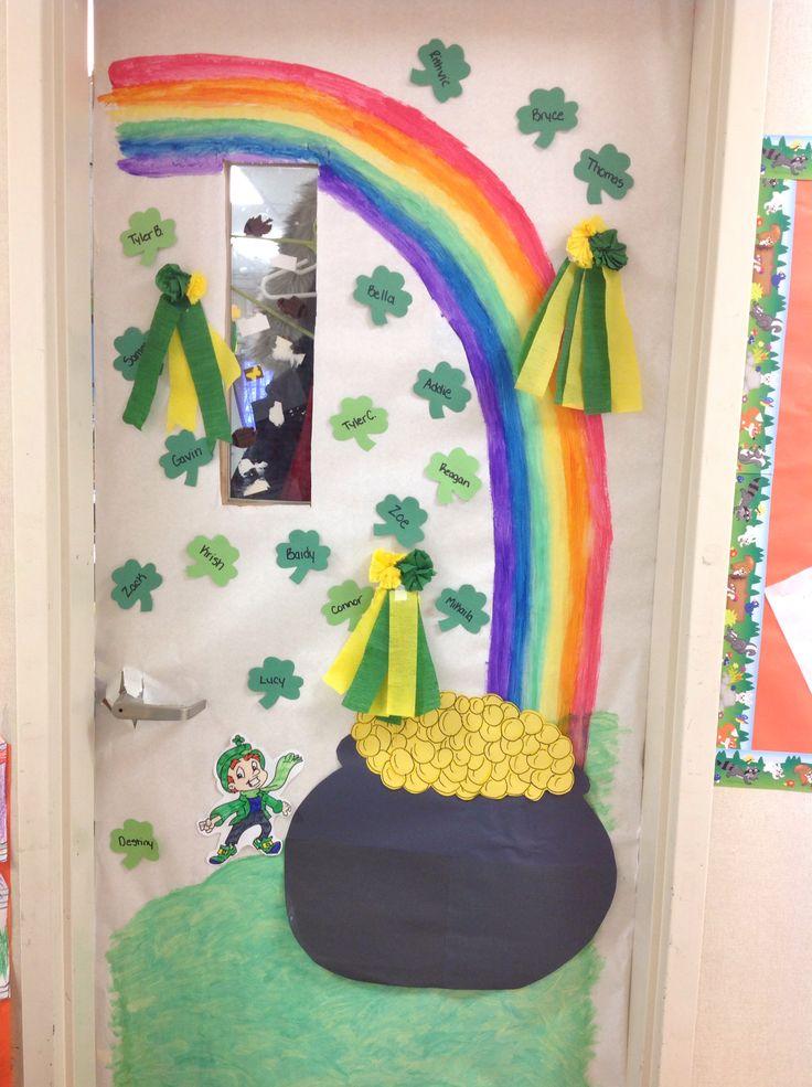 St Patricks Day Classroom Door Room Mom St Patricks Day