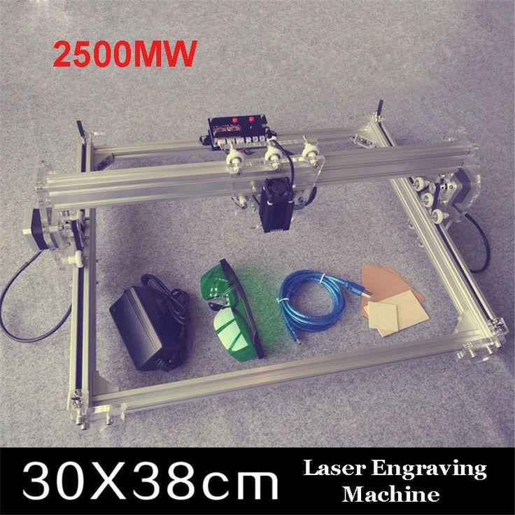 1PC  2500MW big DIY laser engraving machine,2.5W diy marking machine,diy laser engrave machine,advanced toys #Affiliate