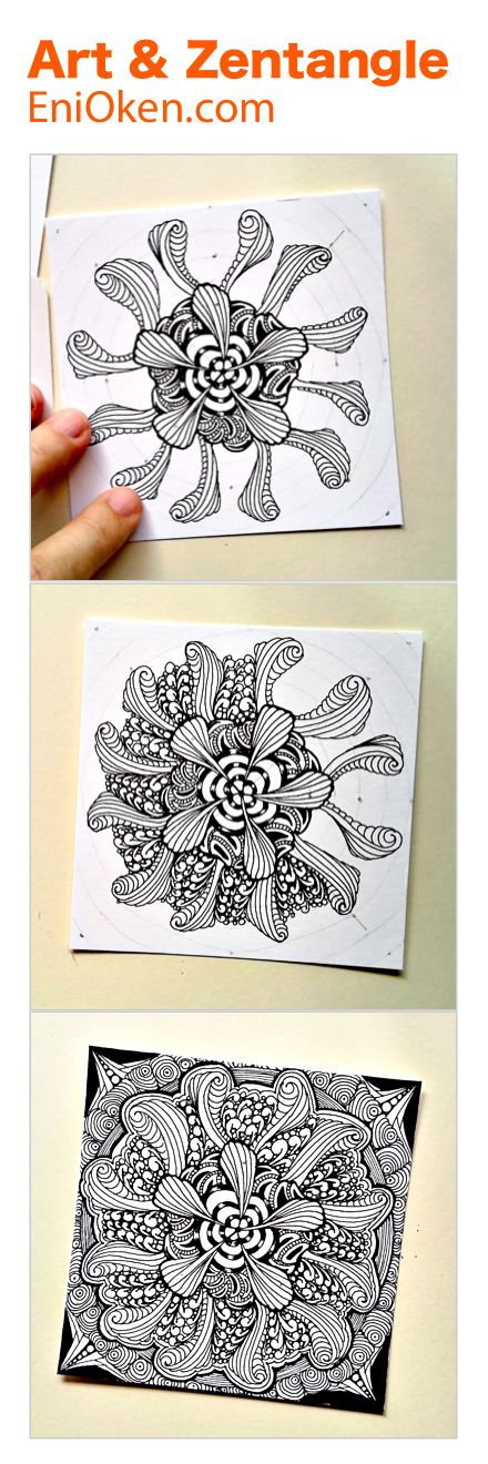 30 best zentangle eni oken images on pinterest zentangle eni oken is an award winning artist with 30 years of experience writing about zentangle shading fantasy design and jewelry making fandeluxe Image collections