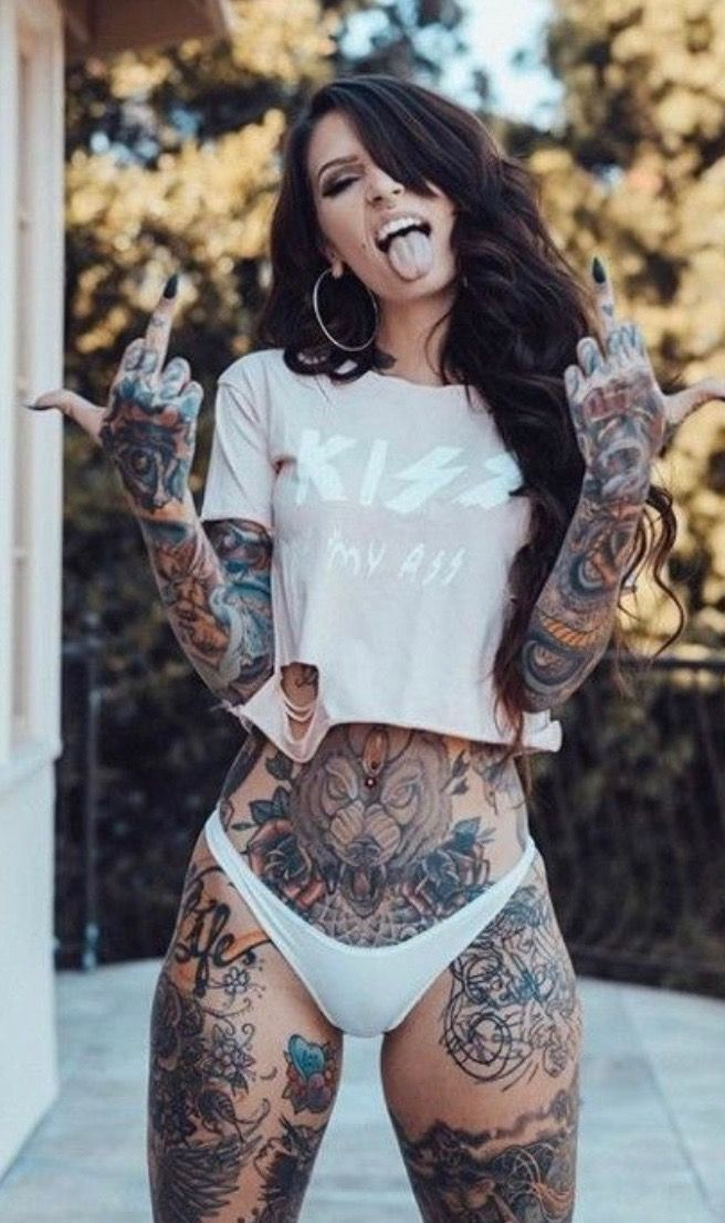 Pin By Zahra On Body Art With Images  Hot Tattoo Girls-7254