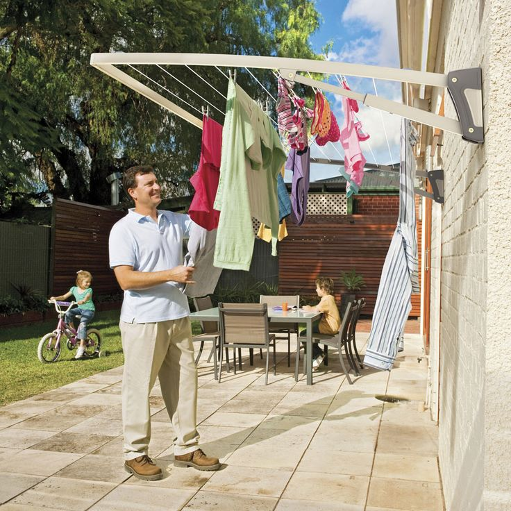 The 25 Best Wall Mounted Washing Line Ideas On Pinterest