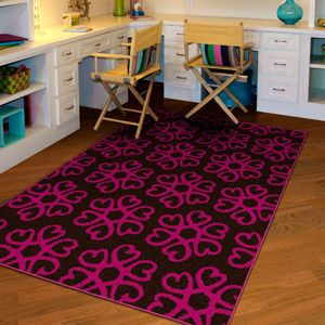NXT GEN Hearts Medallion Olefin Area Rug, Love The Teal And White, Lime And  White And Pink And White For Jai Room Part 70