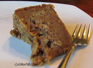 Fresh Apple Cake with Brown Sugar Icing
