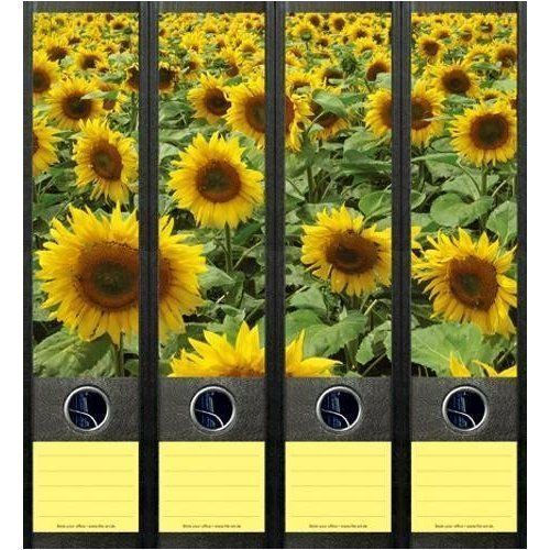 File-Art-4-Design-Ordner-Etiketten-Sunflower-Field-079