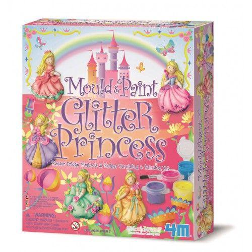 M4 gips gieten glitter prinsessen 5 jr+