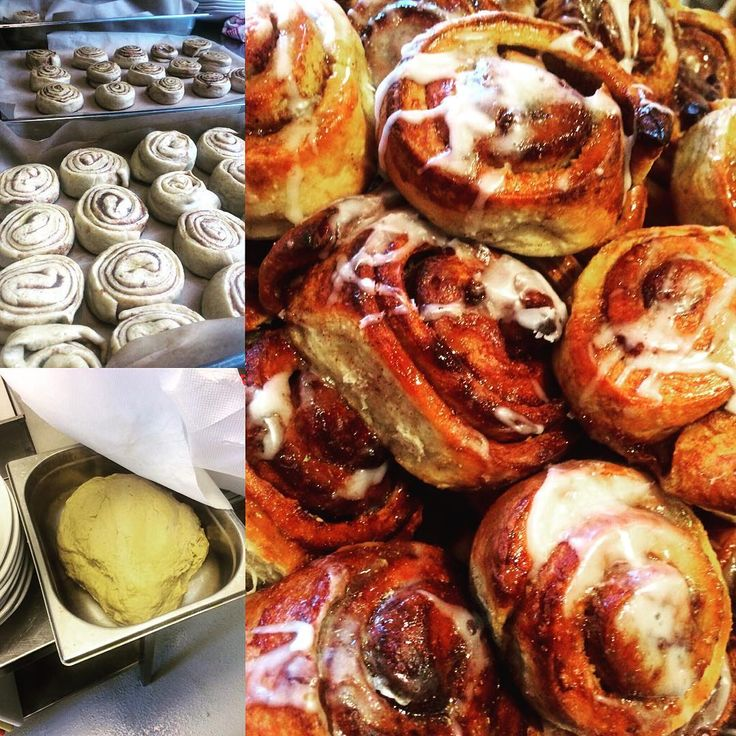 Norwegian Cinnamon Buns - Norsk Kanelboller made by our chef.  #home #made #sticky #cinnamon #buns #are #just #amazing #come #and #try #our #fresh #food #tyssedalhotel #Norway #Tyssedal