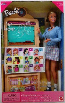 Barbie Sign Language Doll