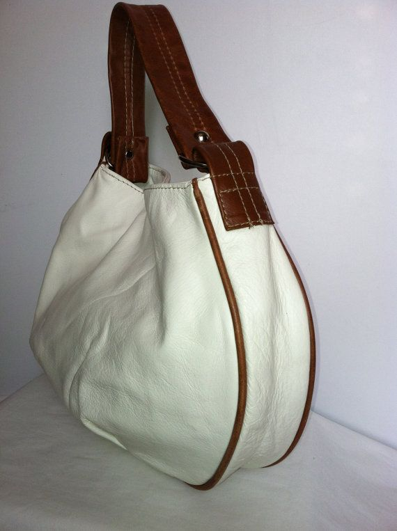 Genuine italian leather small  hobo purse bag handbag by Fgalaze, $64.99
