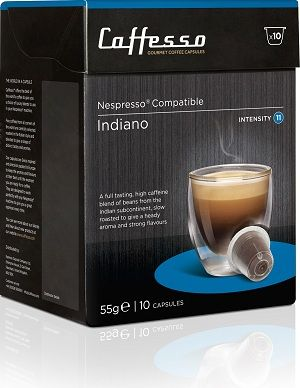 Caffesso Indiano. Intensidad 10