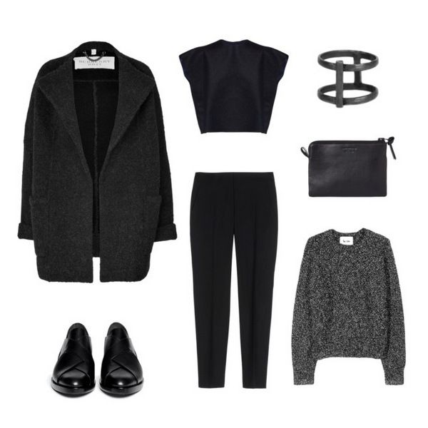 Fall basics /  Mulberry, Alexander Wang, StillWithYou, Acne studios, Theory, Damir Doma