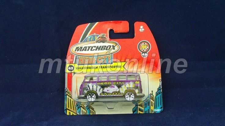 MATCHBOX 2003 VOLKSWAGEN TRANSPORTER | 1/58 | CHINA | HERO CITY 45 | B5467