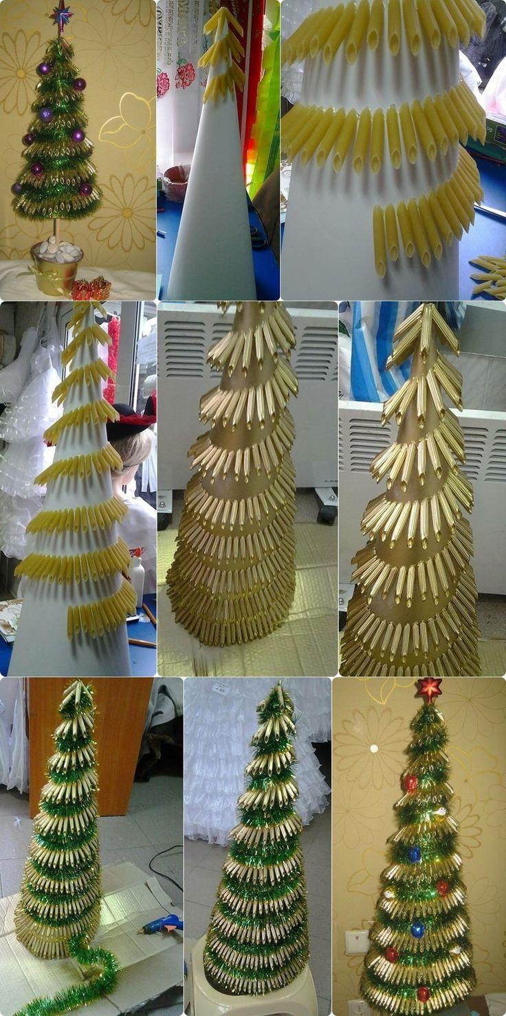 penne noodles tree