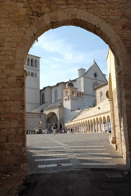 """Assisi, Umbria, Italy - collected by linenandlavender.net for """"Assisi"""" - http://www.pinterest.com/linenlavender/assisi/"""