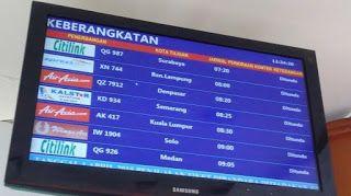 Jadwal Penerbangan Bandara Husein Sastranegara | Mbah Online