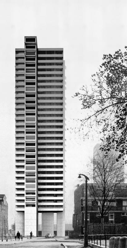 E2A Eckert Eckert Architekten > High-Rise London