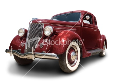 Early Ford Car Royalty Free Stock Photo