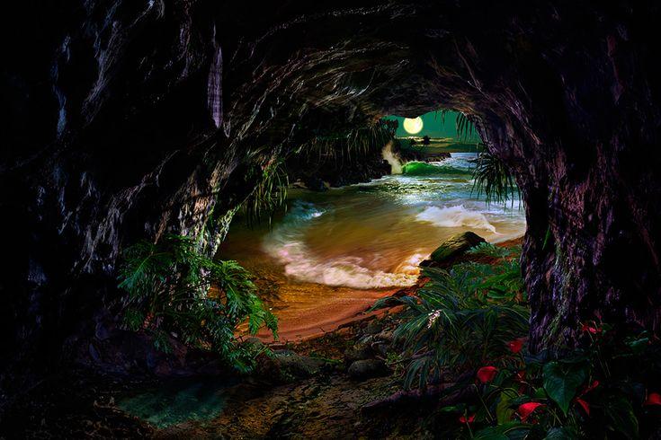 When My Back's Against The Wall / Satoshi Matsuyama  #Satoshi Matsuyama #Hawaii #art #Landscape