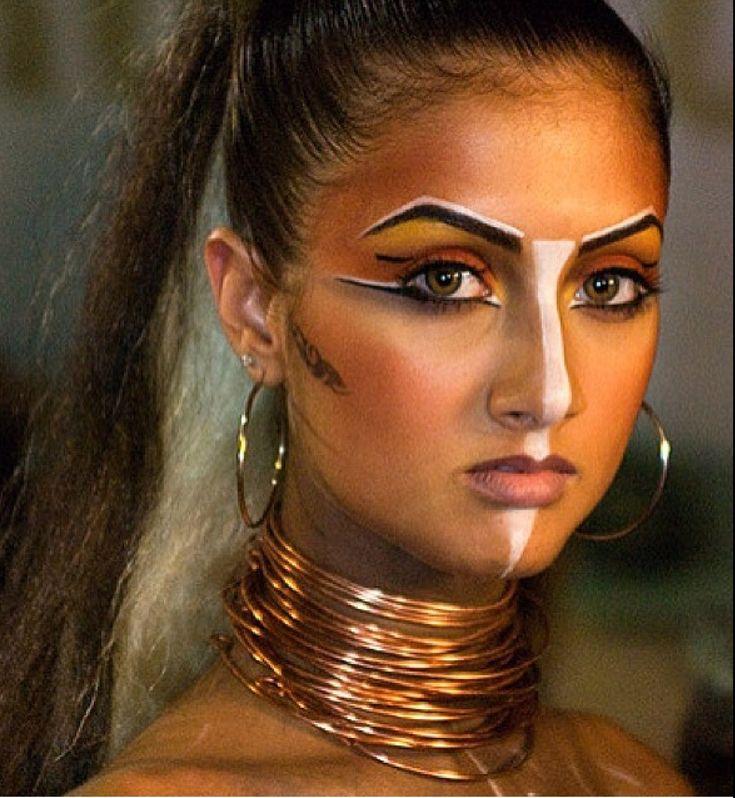 best 25 tribal warrior ideas on pinterest tribal makeup war paint and warrior princess. Black Bedroom Furniture Sets. Home Design Ideas