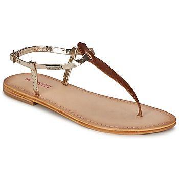 Basique, pratique et tout aussi polyvalente, cette sandale à entredoigt signée Les Tropéziennes par M. Belarbi sera l'incontournable de votre été. Toute en cuir, elle est disponible dans une large palette de coloris : à vous de choisir la vôtre ! - Couleur : Tan or - Chaussures Femme 35,91 €