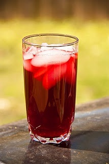 Karkanji: a red hibiscus tea with cinnamon and cloves from ...