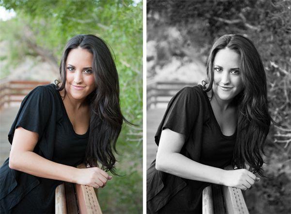 How to Make Beautiful Black & White Photos in Lightroom. Tutorial via iheartfaces.com #lightroom
