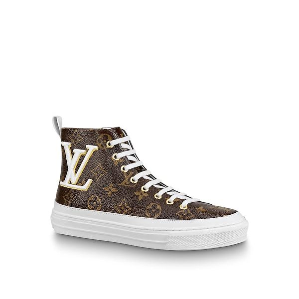 bfc346f690 LOUIS VUITTON Stellar Sneaker Boot. #louisvuitton #shoes | Louis ...