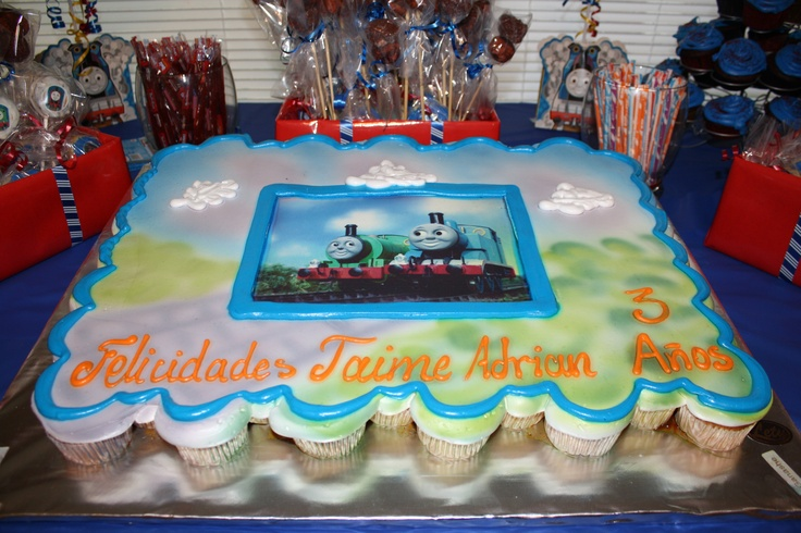 Delicious cajeta and chocolate filled cupcake cake from Monterrey, Mexico famous Pasteleria Lety.