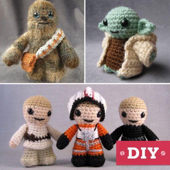Lucy Ravenscar's fantastically geeky Star Wars DIY projects. #crochet #crafts http://www.geeksugar.com/Star-Wars-DIY-Gifts-Etsy-26382213