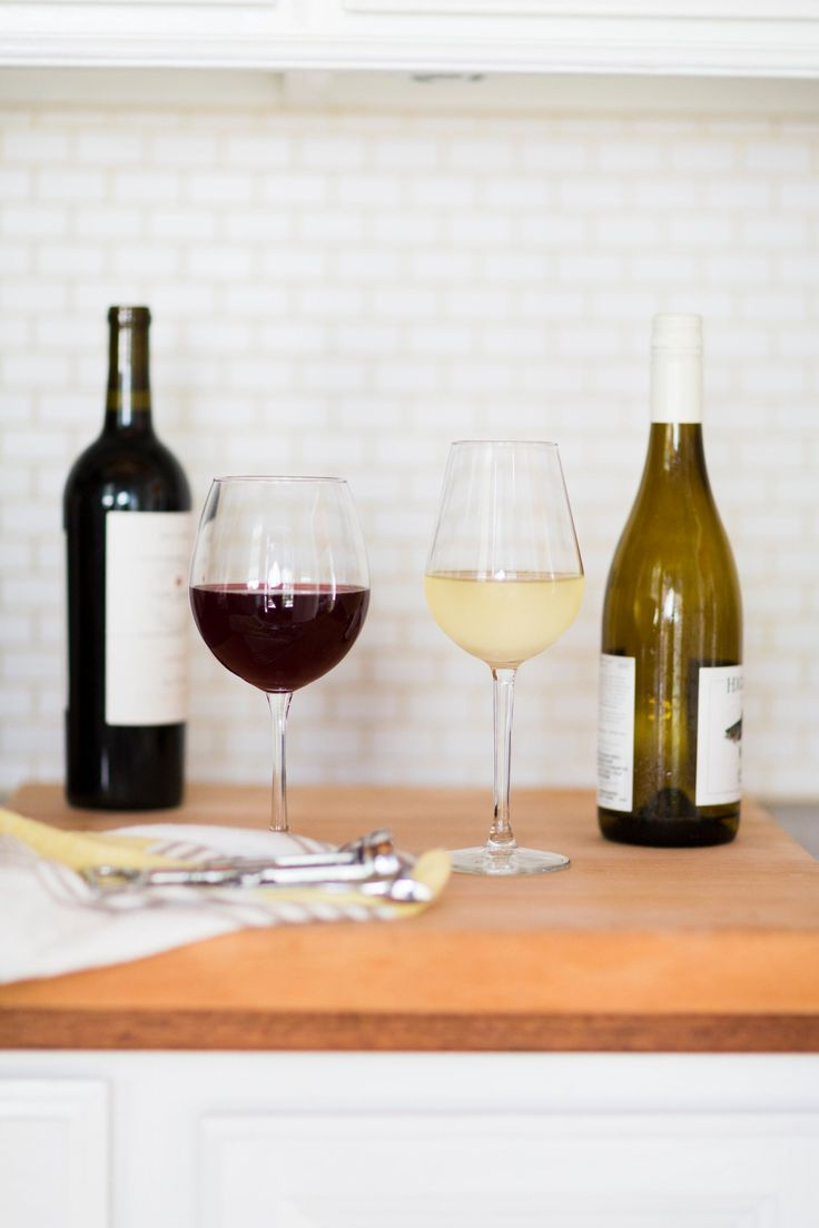A super simple explanation of which wine glass to use!
