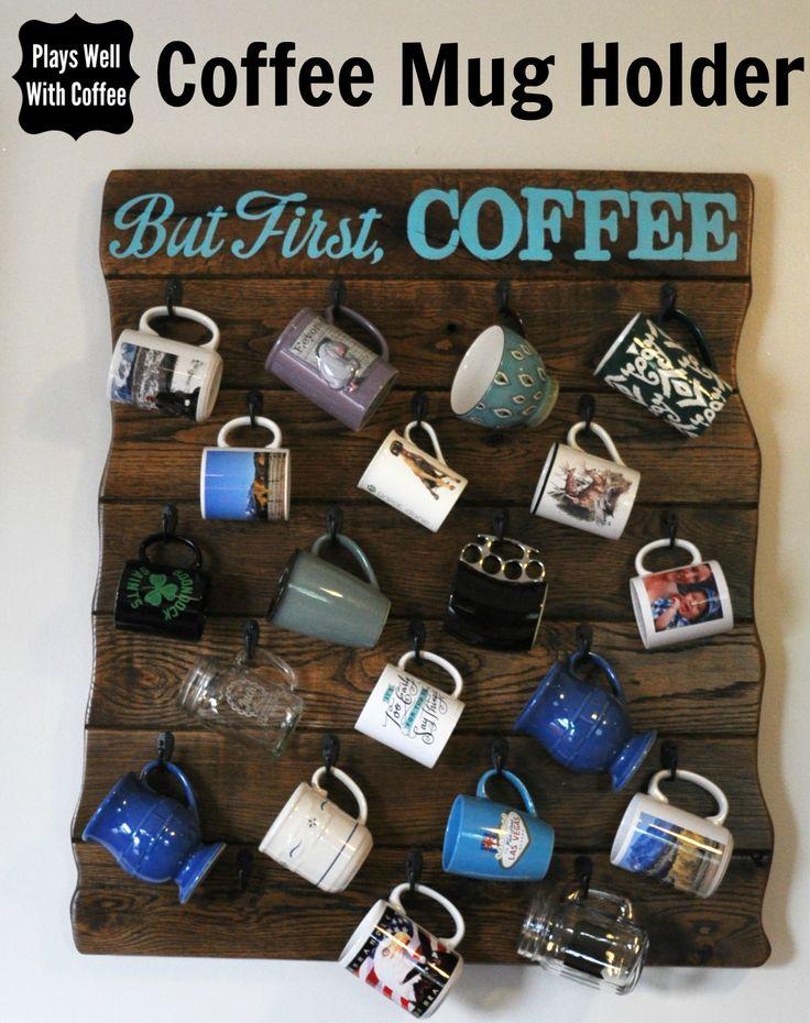 Coffee Mug Holder                                                                                                                                                                                 More