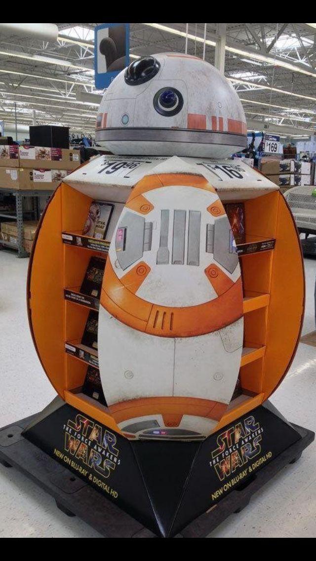 Temporary POS Design - Pallet Display - Star Wars - Cardboard Design