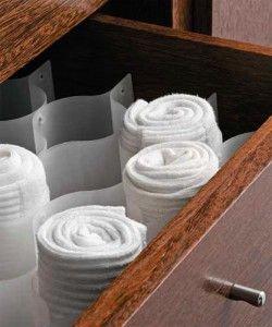 Kika Closet: Guardando nas gavetas