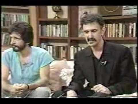 Frank Zappa ABC Morning Show September 26, 1985 Part 2  [ #PMRC - Parent Resource Music Center ]