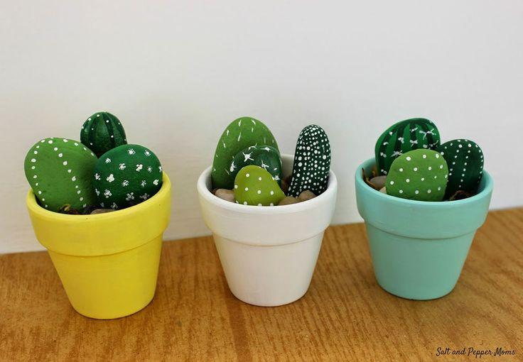 Stenhårde kaktusser